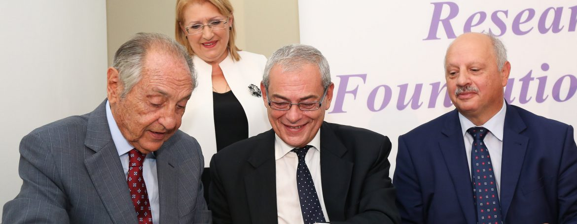 Launch of Emanuele Cancer Research Foundation Malta